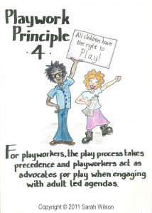 Playwork Principle 4 Colour