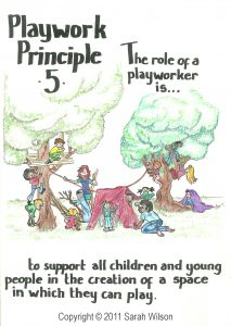 Playwork Principle 5 Colour